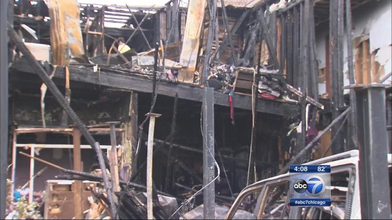 Dozens displaced after 7 fires in Pilsen