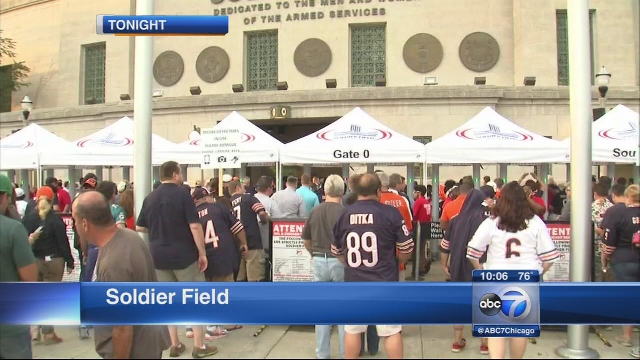 Security on high alert at Soldier Field ahead of Bears game