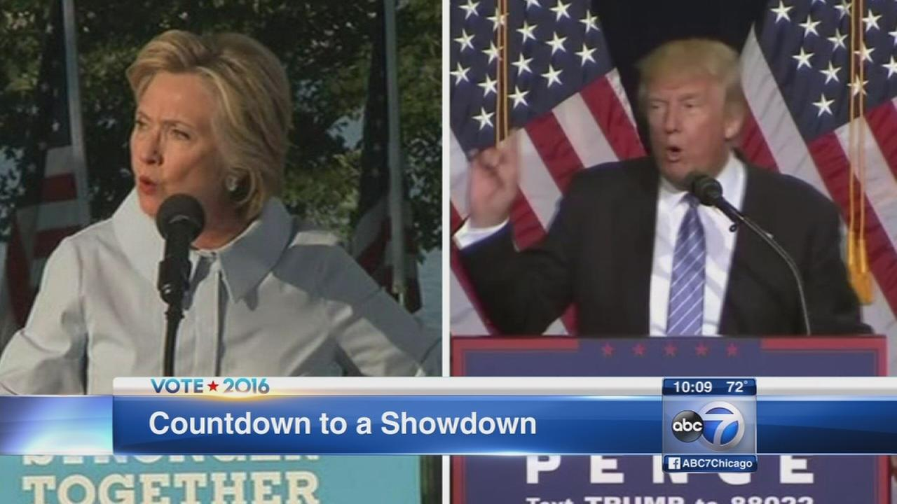 Candidates prepare to face off in first debate