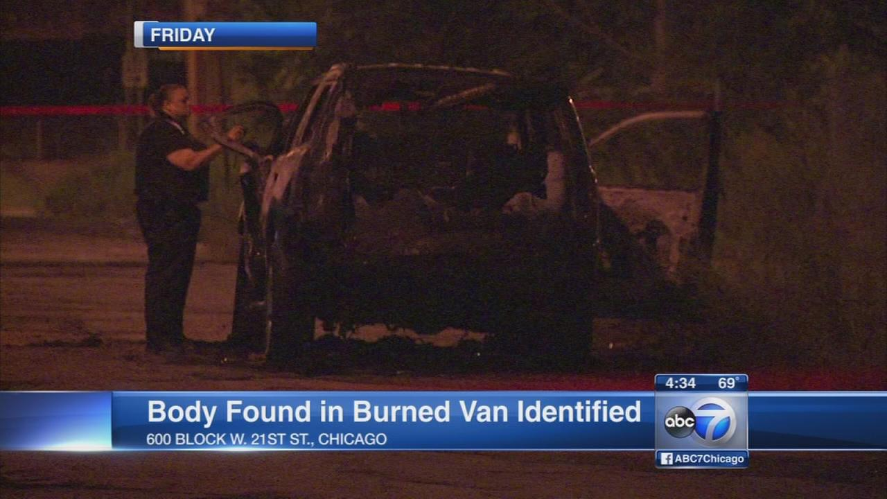 Body found in burning Pilsen vehicle IDd as Barrington Hills man
