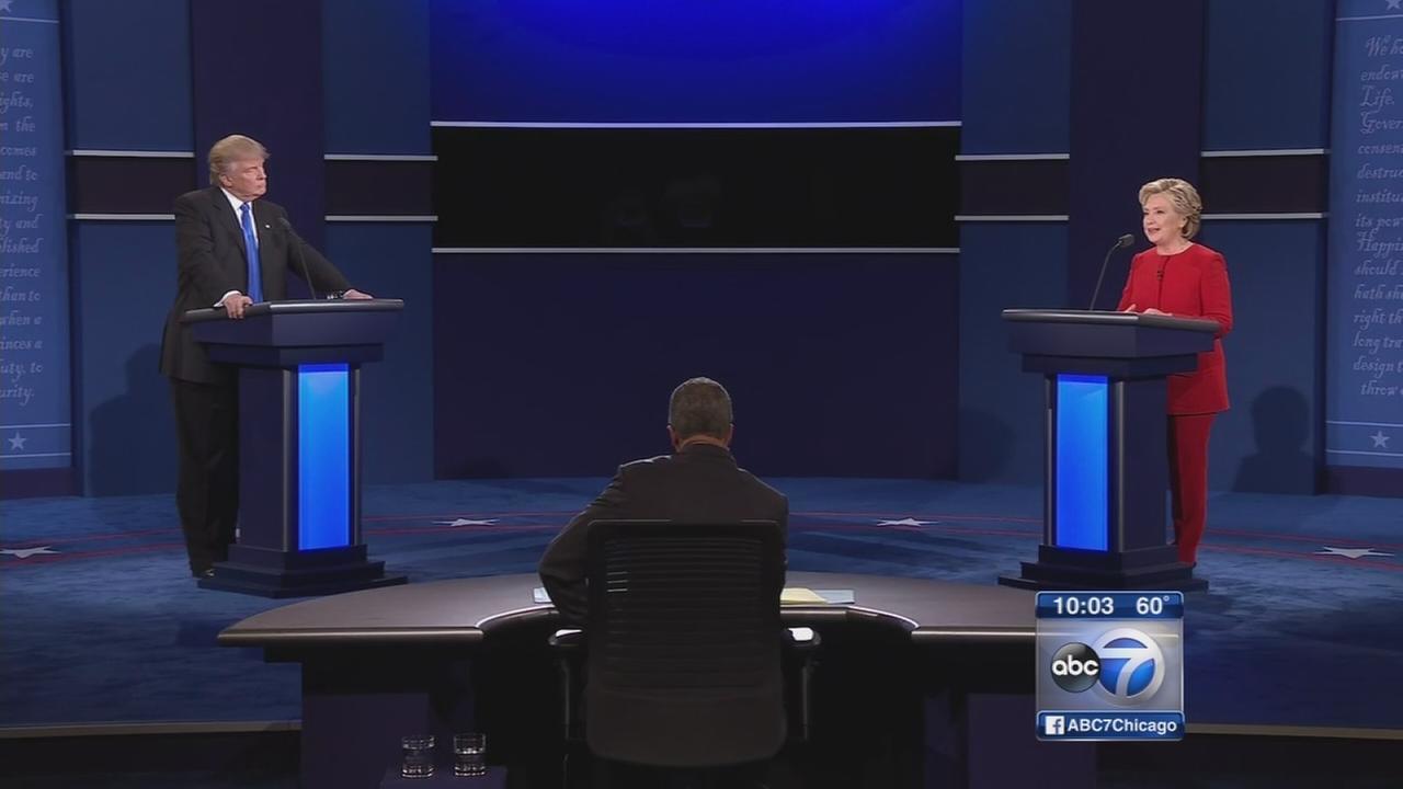 Presidential Debate: Hillary Clinton, Donald Trump meet in first faceoff