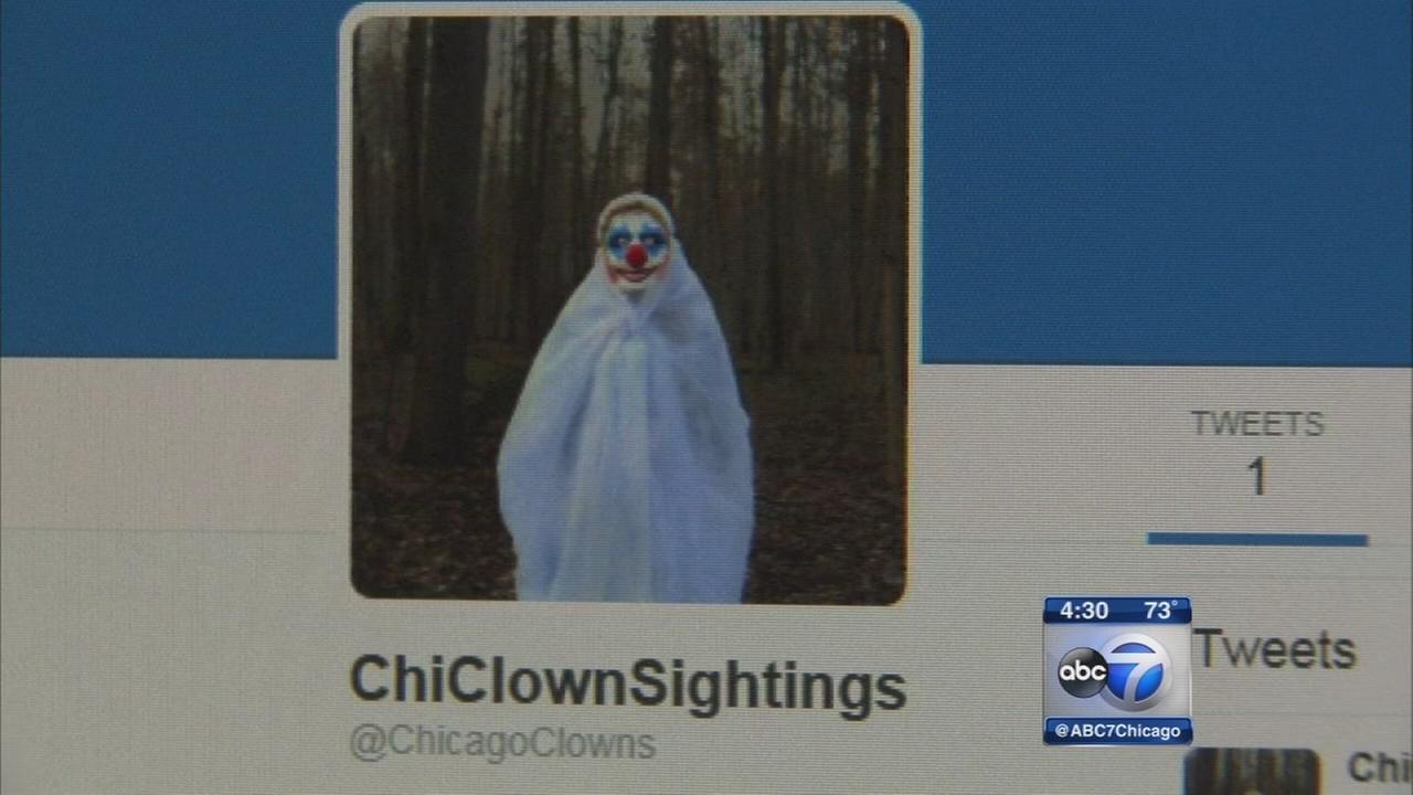 Clown chases group in West Englewood