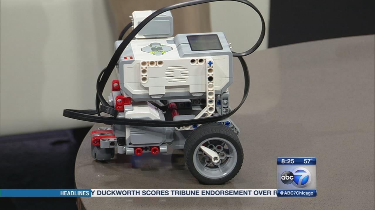 Robots inspiring STEM education in schools