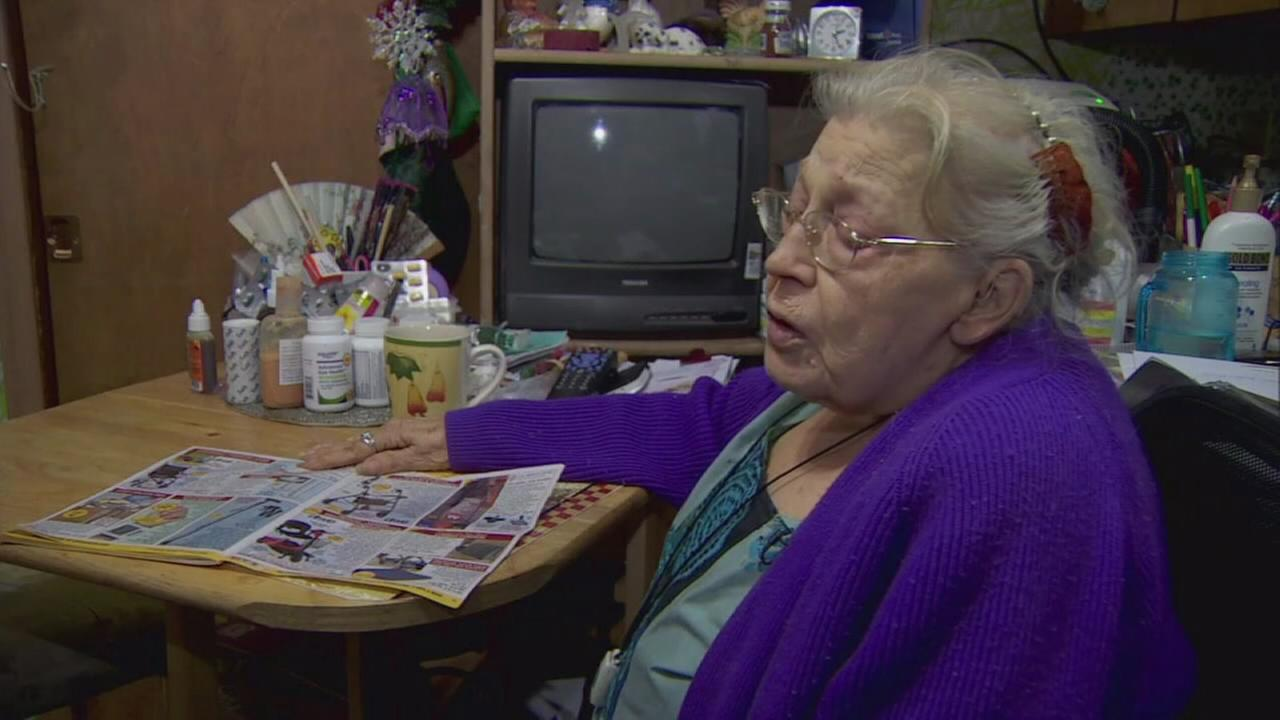 Elderly womans van with wheelchair, walker stolen