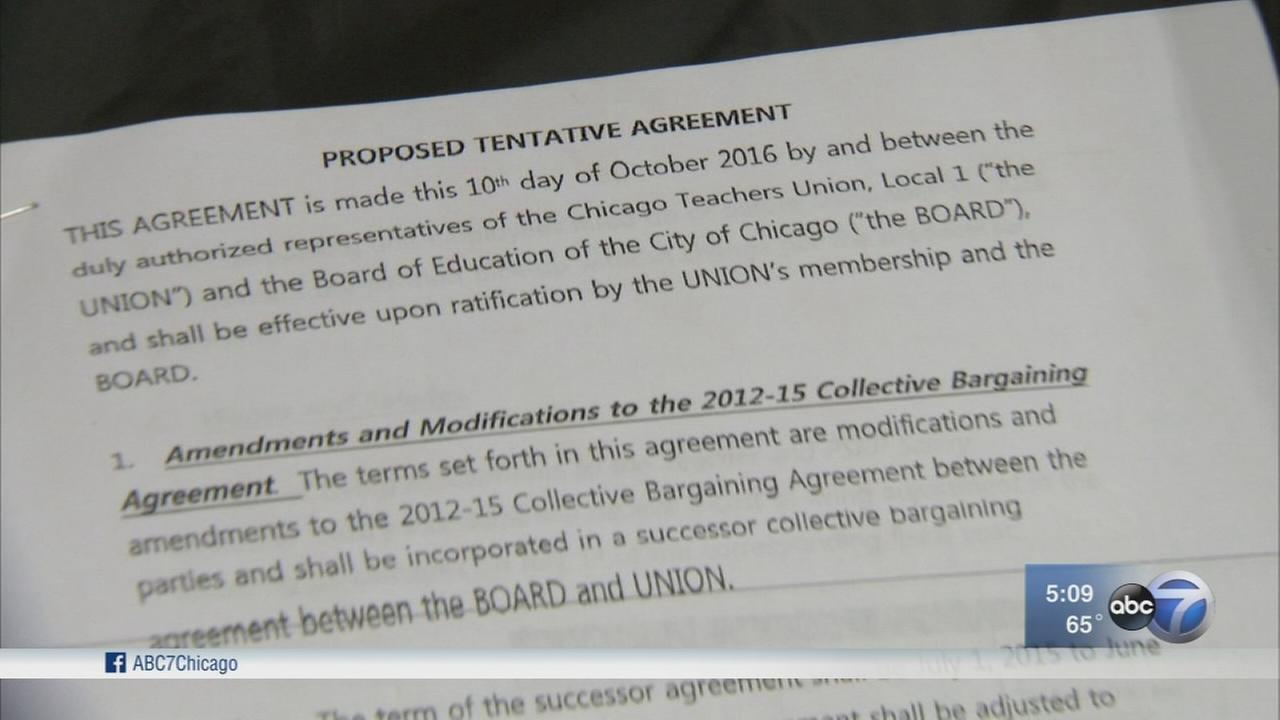 CTU to vote on tentative contract