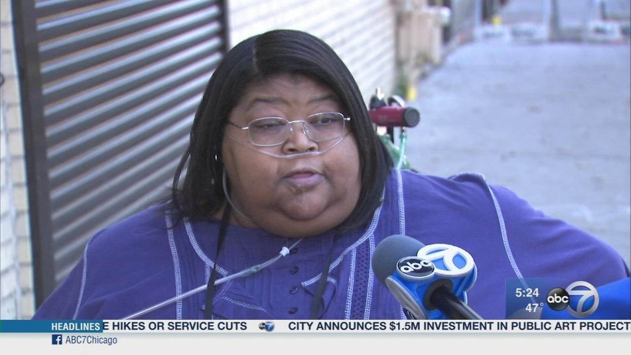 Disabled womans van stolen during church