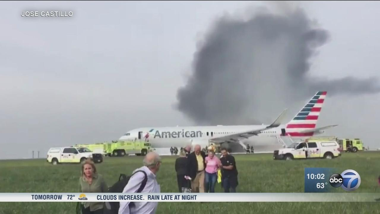 20 injured in plane fire caused by engine failure
