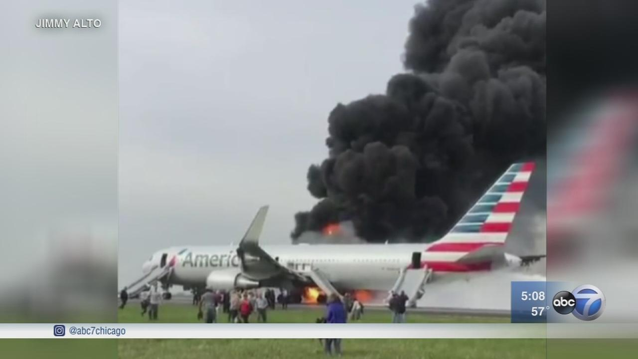 Investigation continues into plane fire