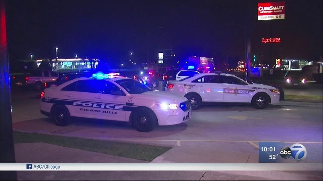 Manhunt underway after state trooper injured in incident