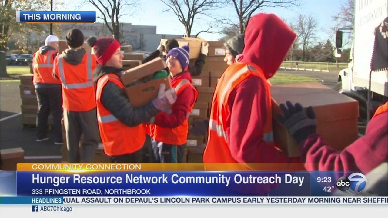 Hunger Resource Network gives back