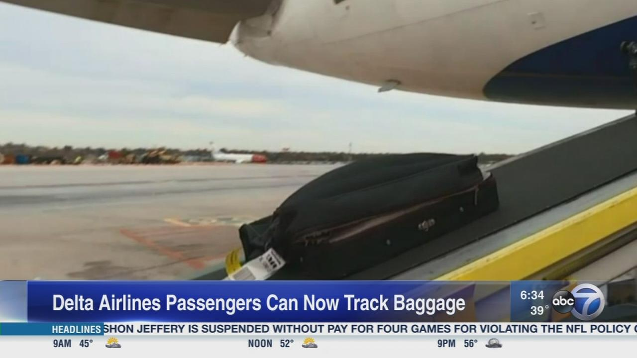 Delta launches bag tracking app