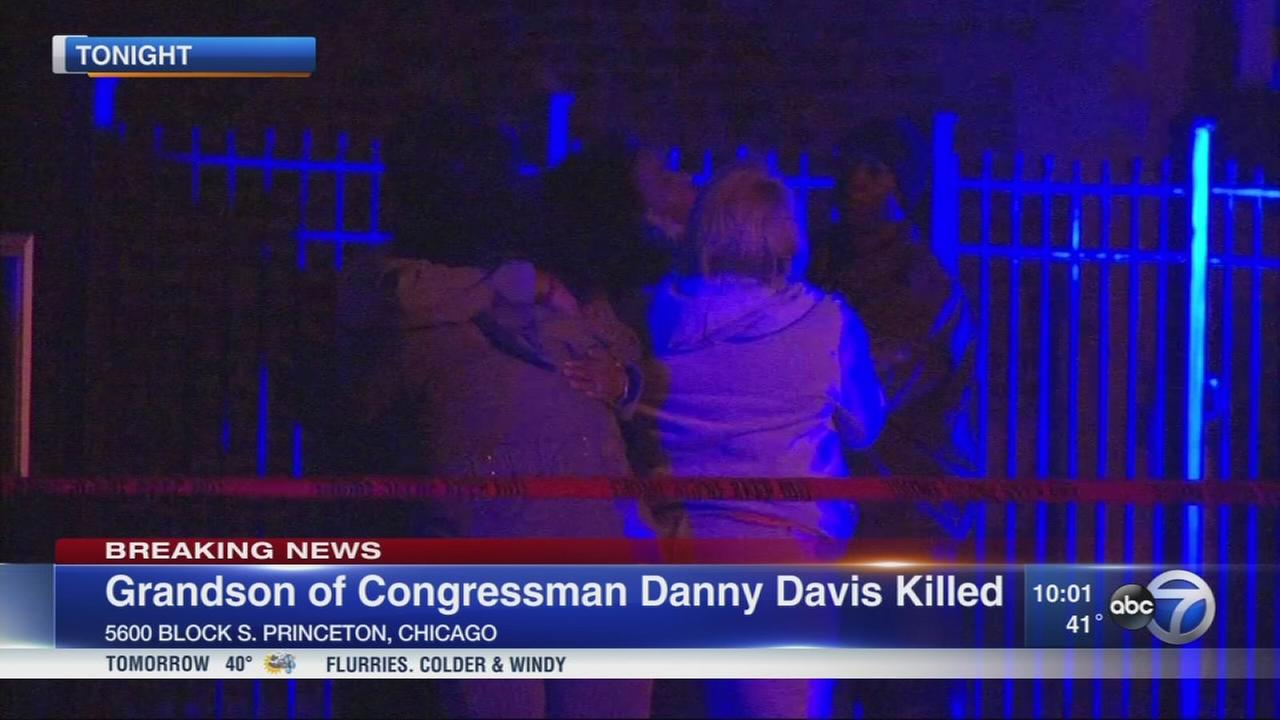 Rep. Danny Davis grandson, 15, fatally shot in Englewood
