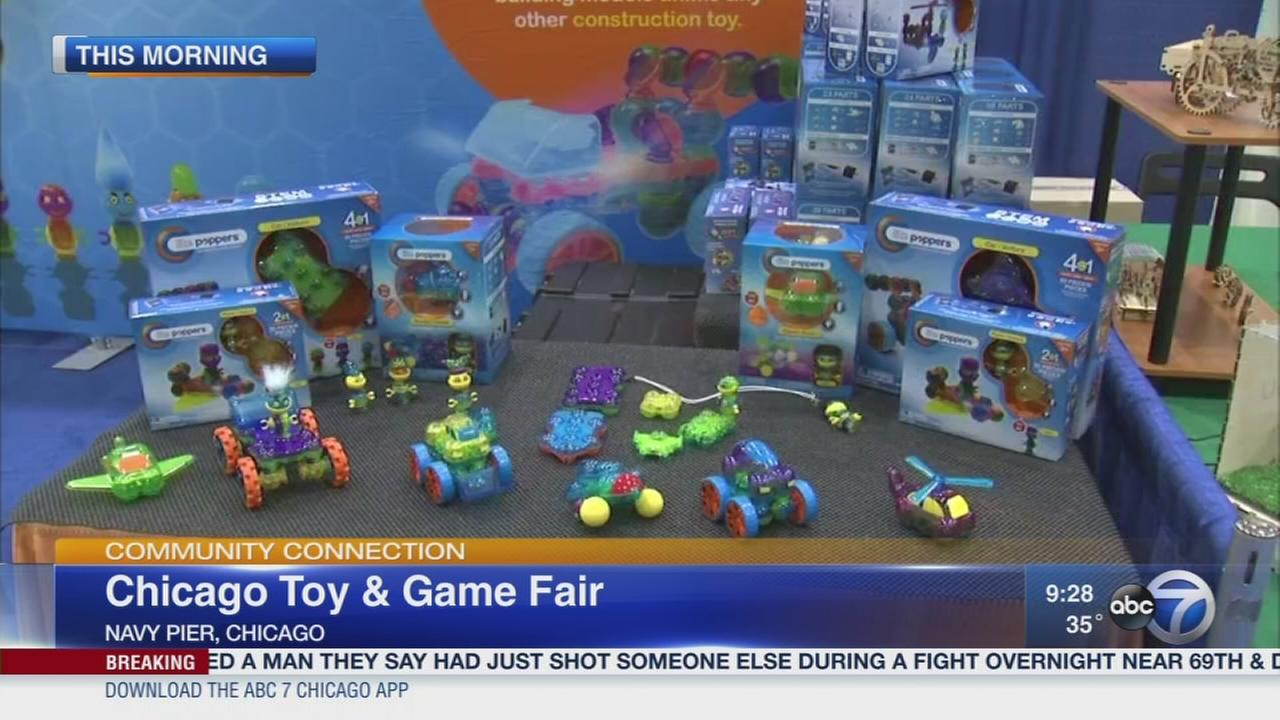 Its time to play at the Chicago Toy and Game Fair