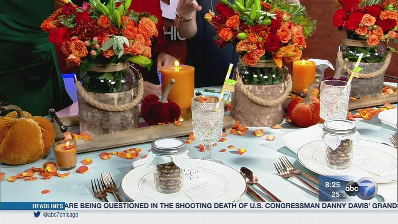 Decorating tips for Thanksgiving