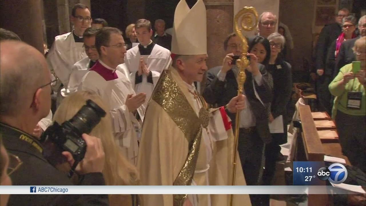 Cardinal Cupichs first Mass