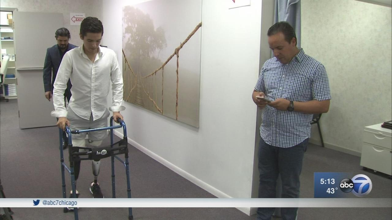 Teen who lost both legs gets new beginning