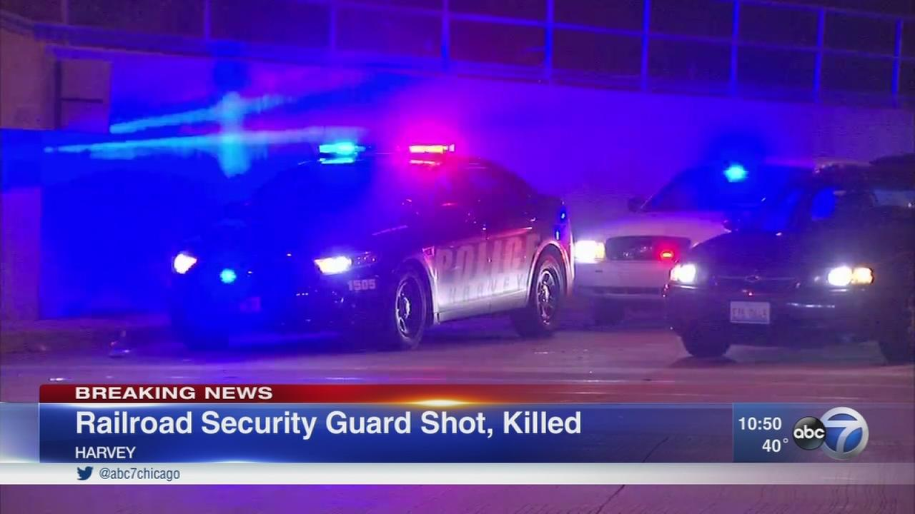 CN Railroad security guard shot, killed