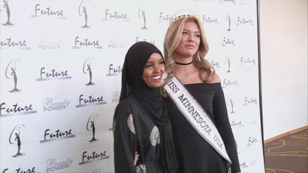 Somali-American competing in Minn. beauty pageant