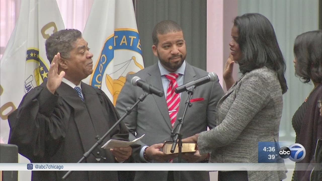 Kim Foxx sworn in as Cook County States Attorney