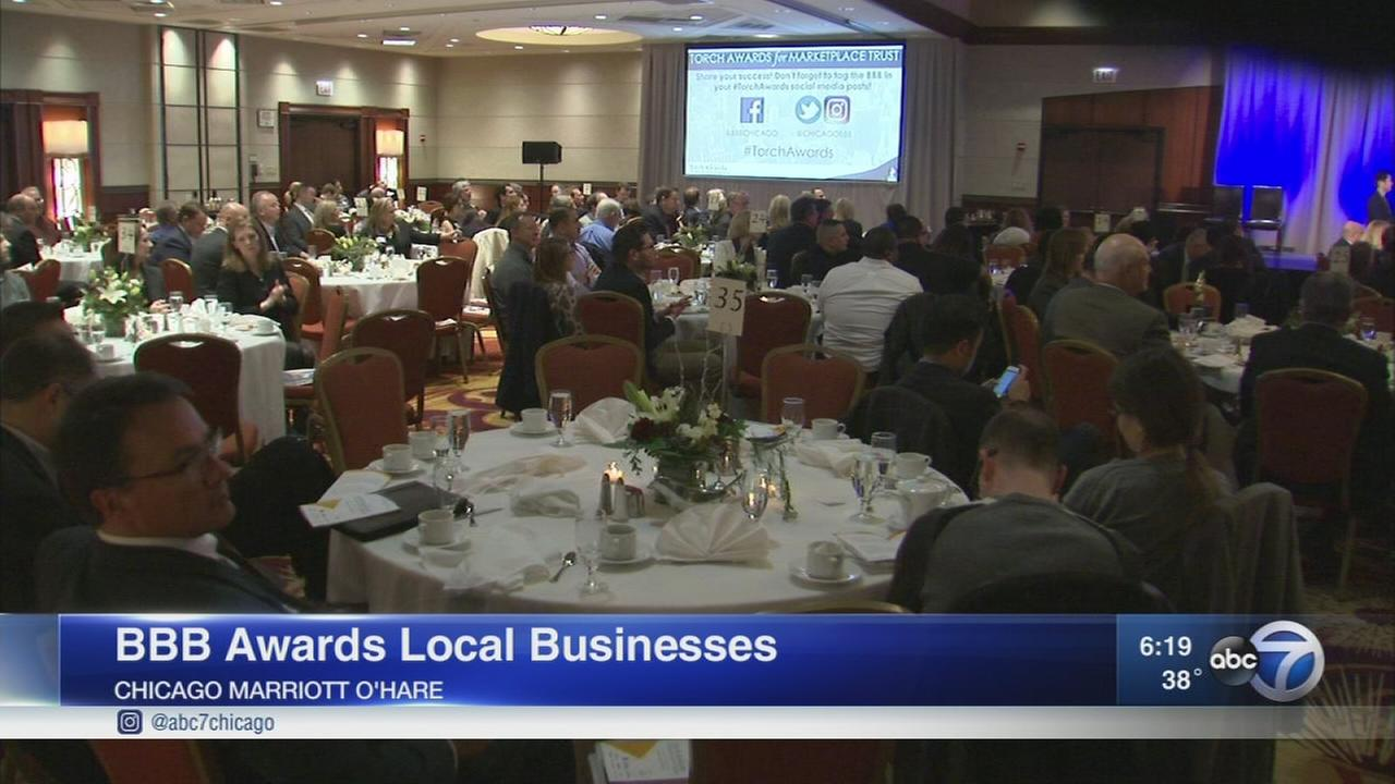BBB honors 6 Chicago area businesses