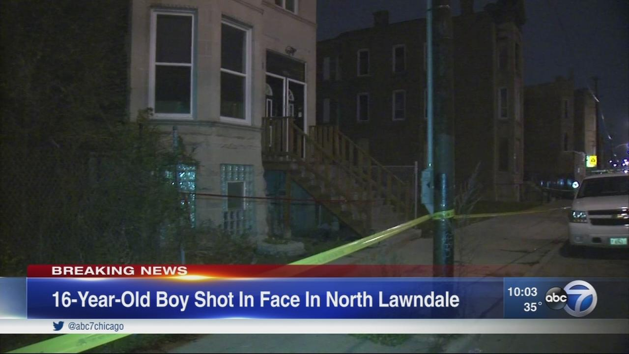 16-year-old boy shot, critically injured