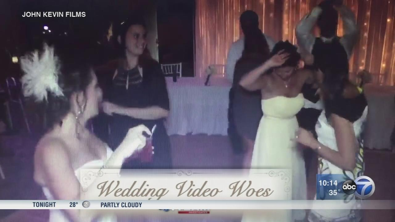Brides say business has kept wedding videos for years