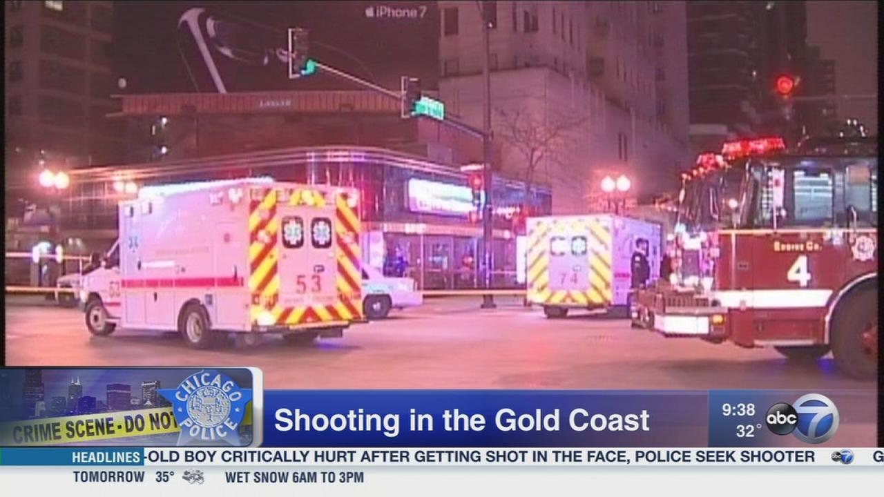 3 shot in Gold Coast