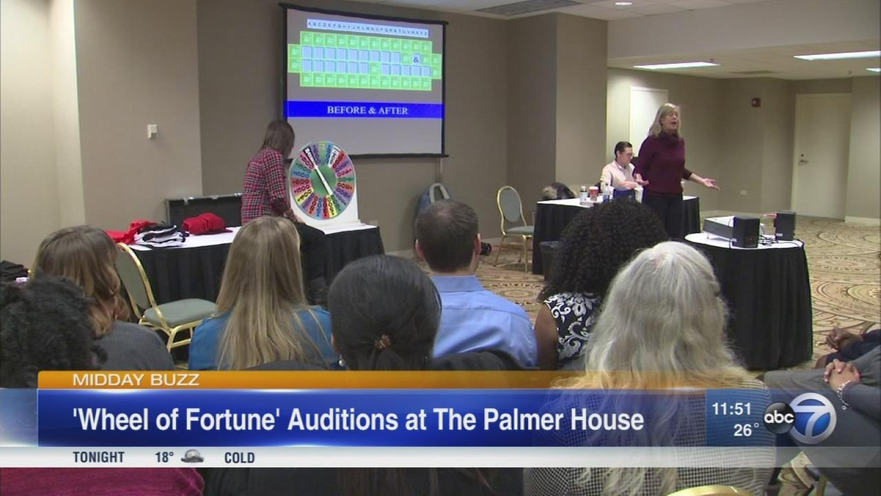 ?Wheel of Fortune? holds invitational auditions