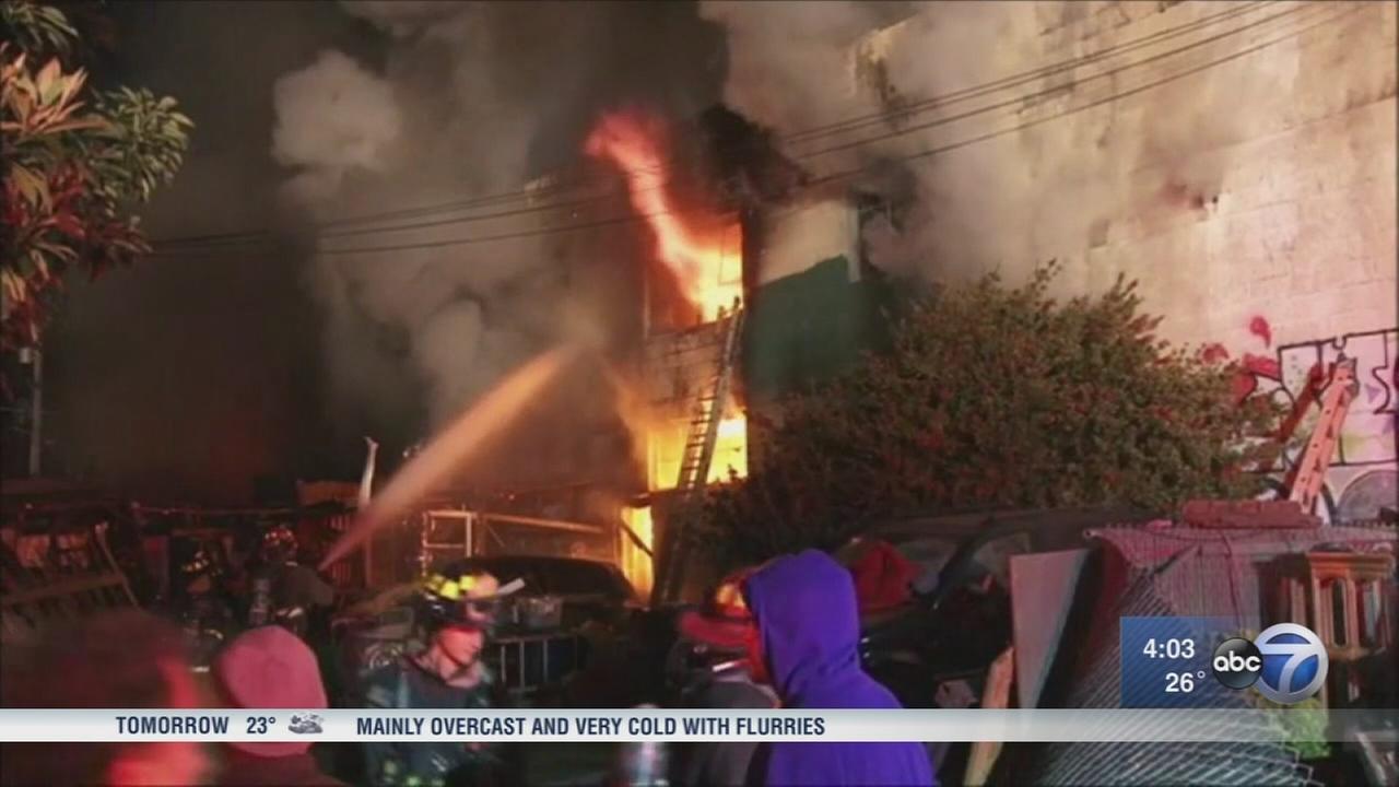 36 dead in Oakland fire