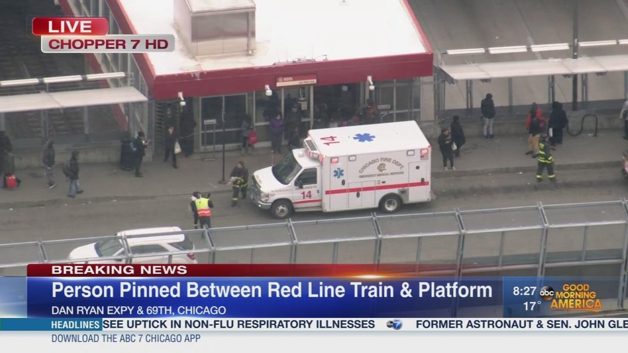 Medical emergency on CTA Red Line