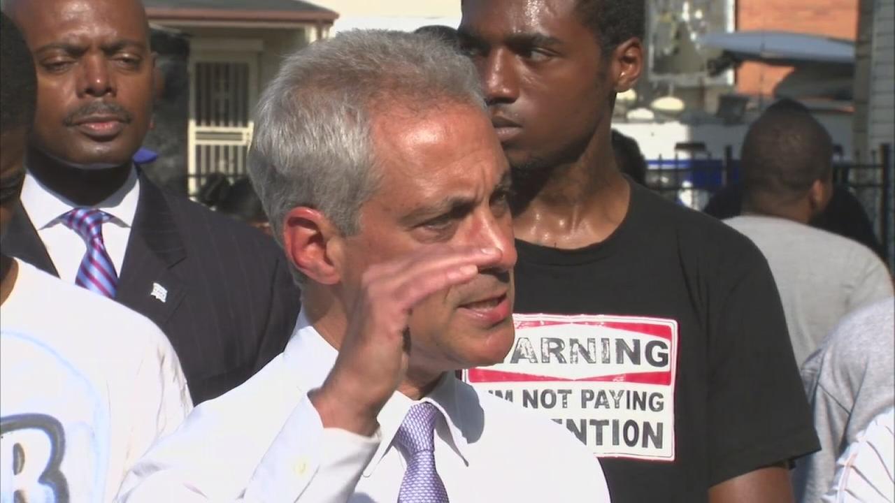Mayor Emanuel full statement on weekend violence