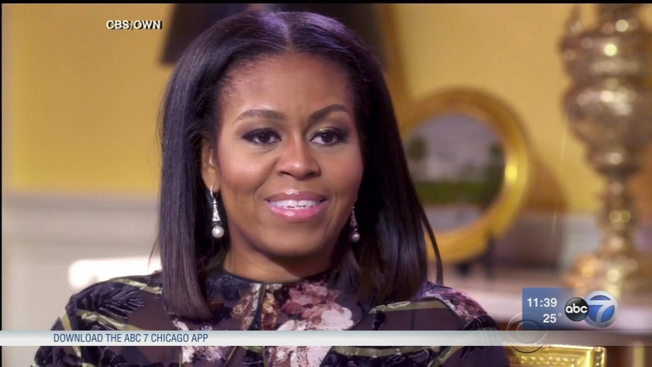 First Lady reflects on White House experience in final interview
