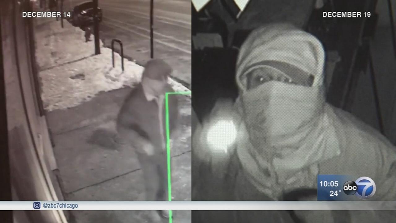 4 restaurant burglaries in 1 night along Pilsen street