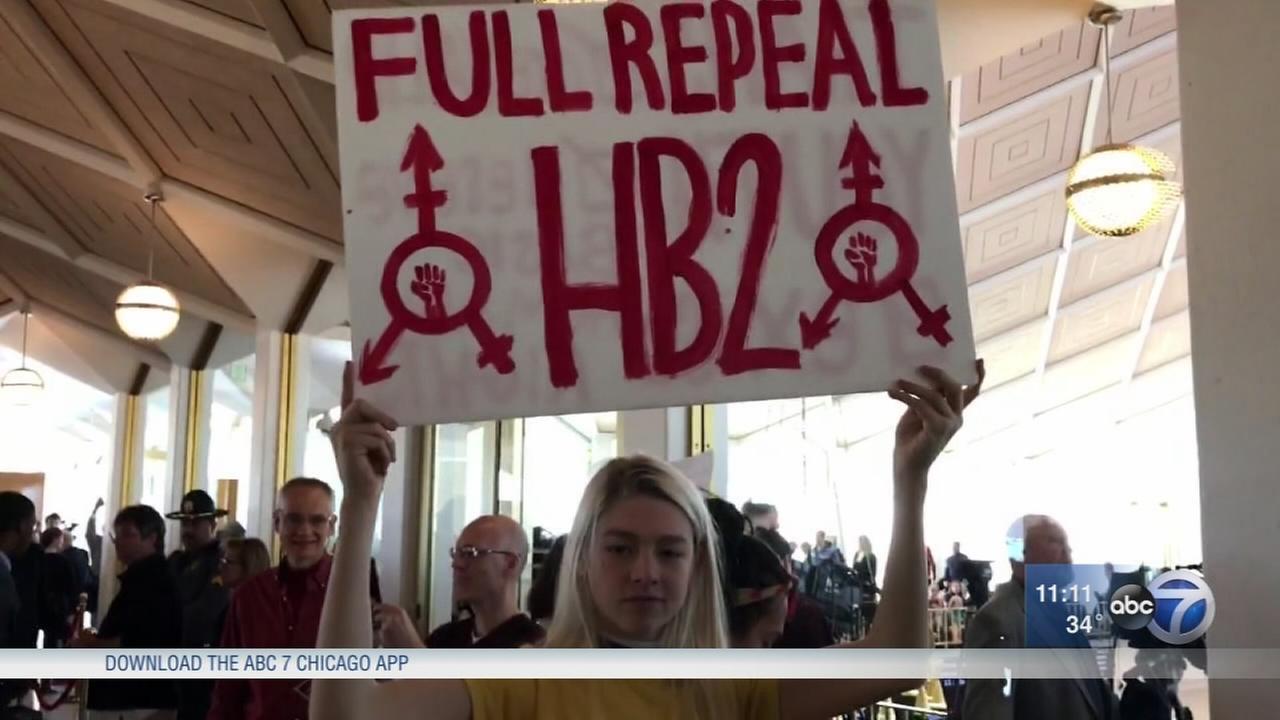 NC legislature fails to repeal HB2