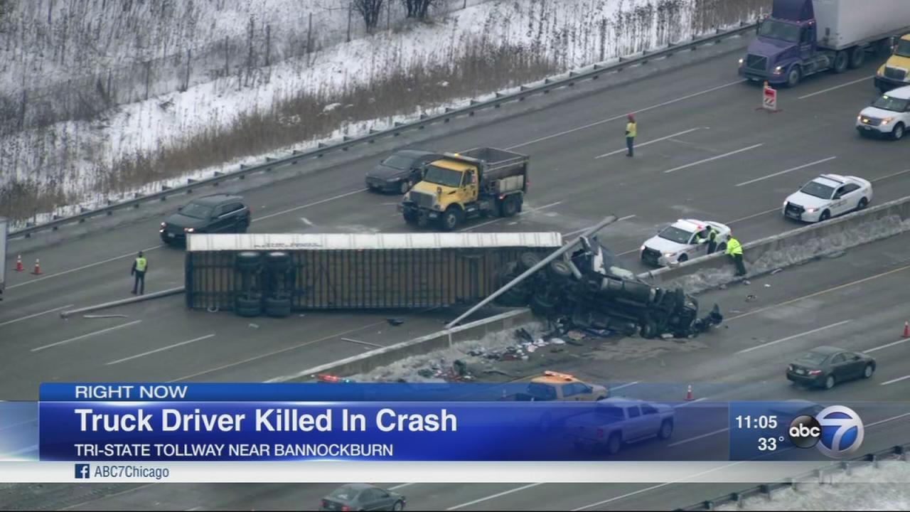 Truck driver killed in Tri-State crash
