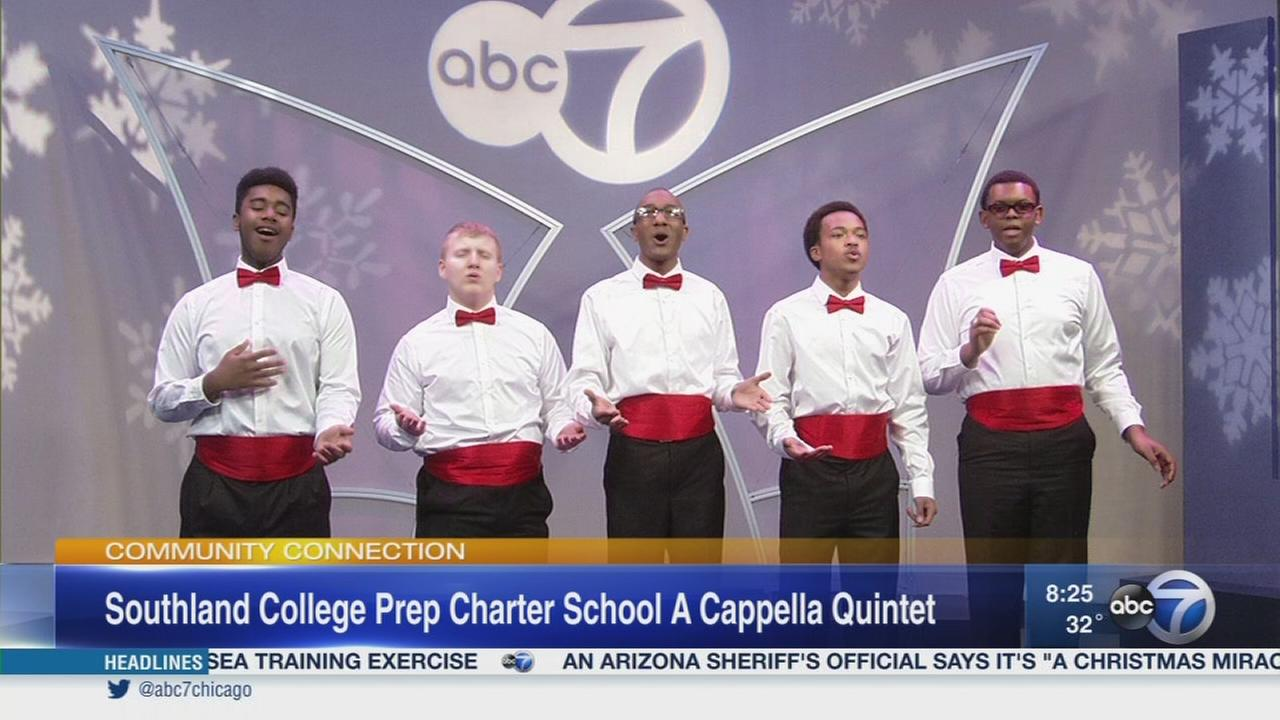 Christmas music from Southland College Prep Charter High School