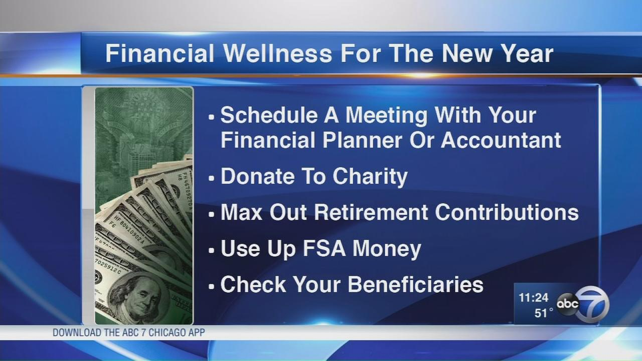 Financial tips for the end of the year