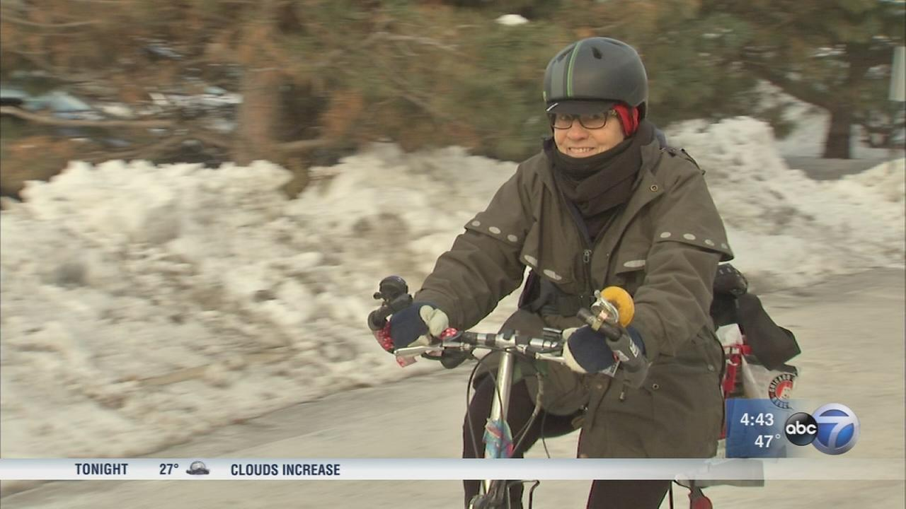 Avid cyclist spreads word about life-saving blood drives