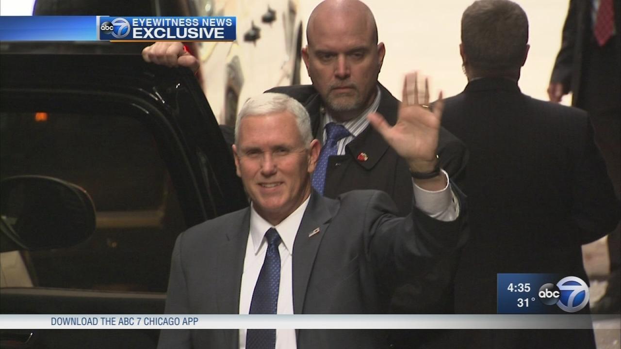 VP-elect visits Chicago for fundraiser