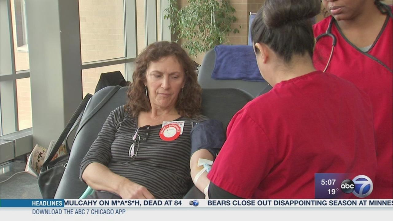 Northside College Preps Red Cross Club helps host blood drive