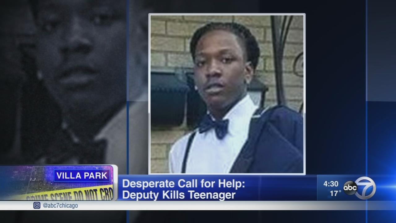 Teen fatally shot near Villa Park by DuPage County sheriffs deputy; 911 calls released