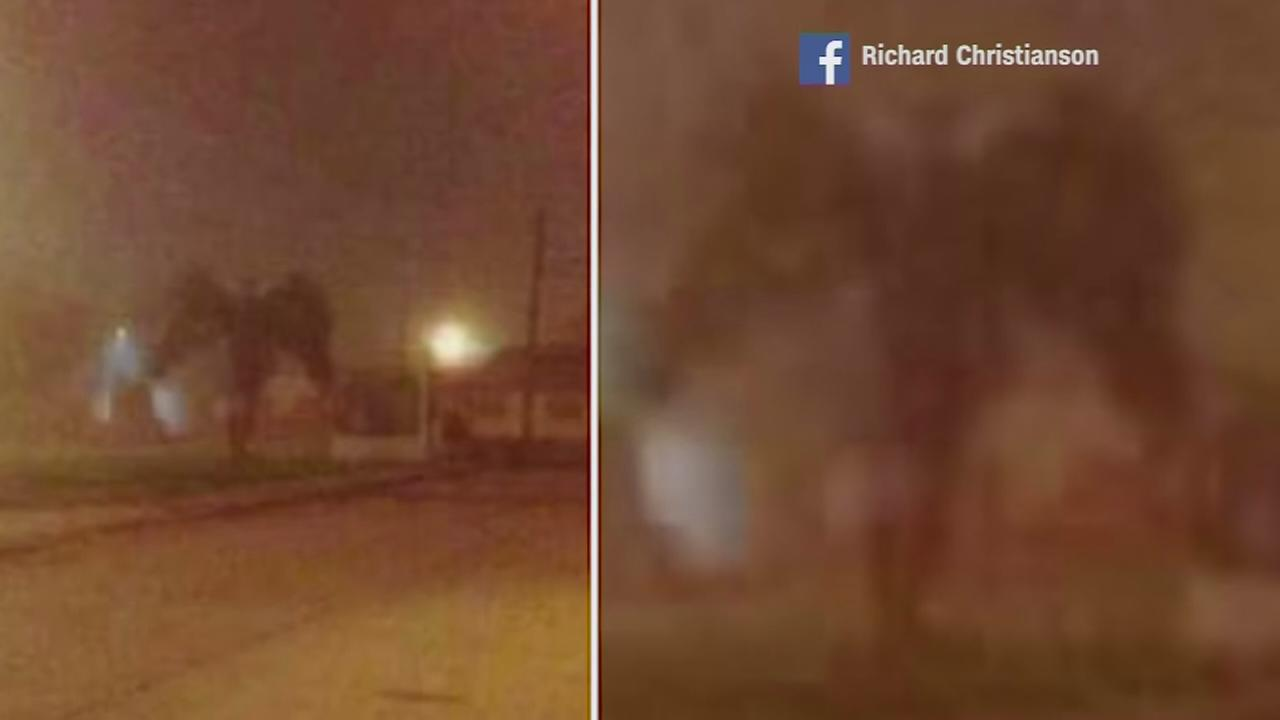 ?Demon sighting? photo goes viral on Facebook