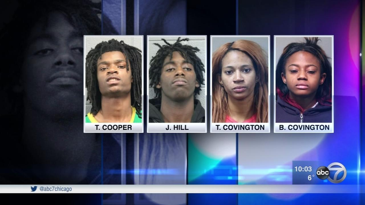 Hate crime charges filed against 4 in Facebook Live torture case