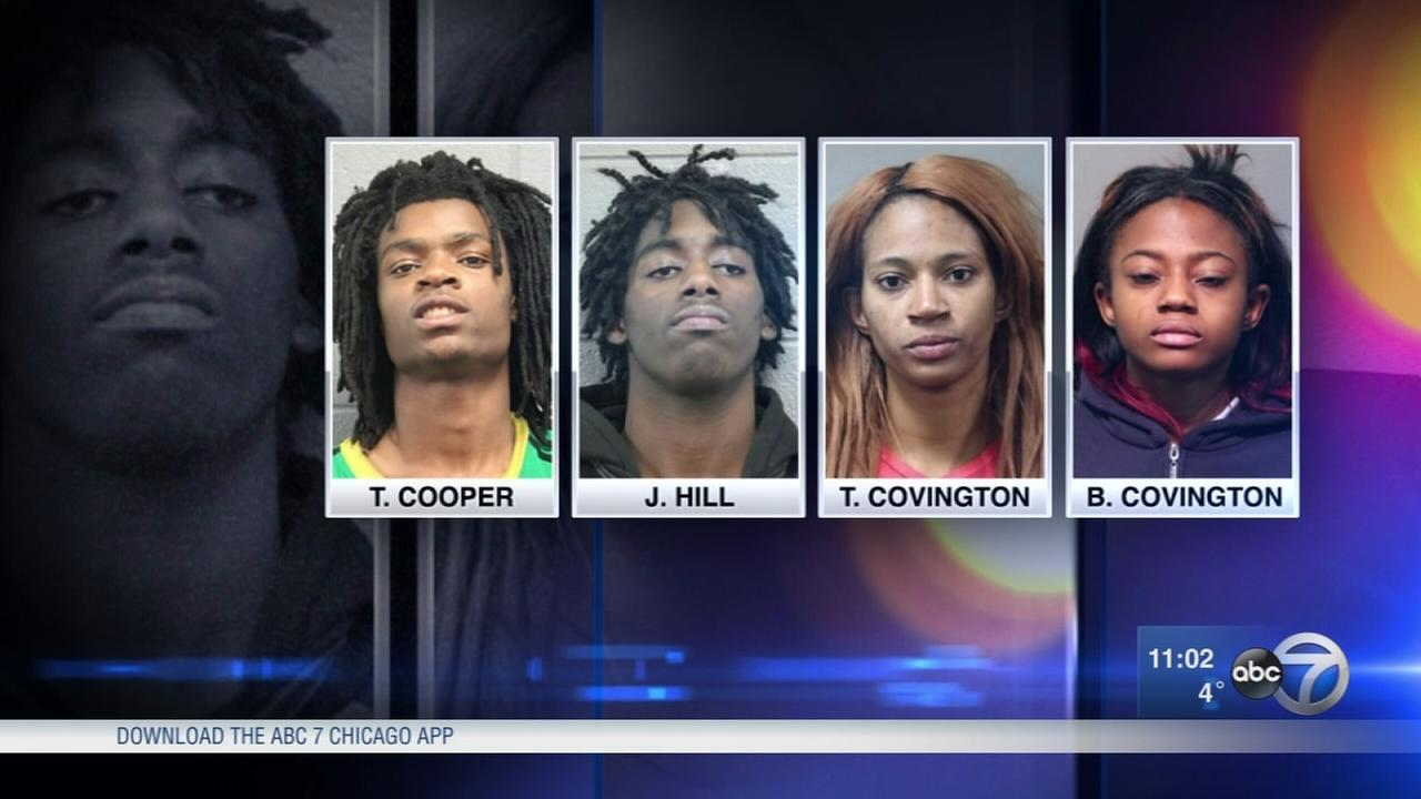 4 charged in torture case due in court