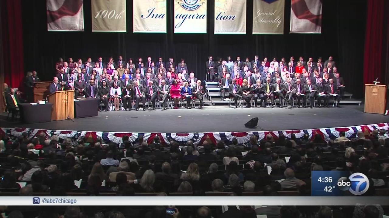 Illinois 100th General Assembly sworn in