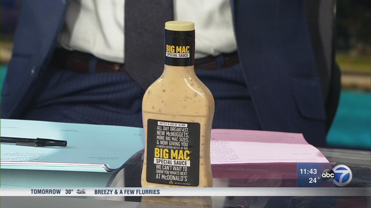 Terrell Brown scores Big Mac Special Sauce