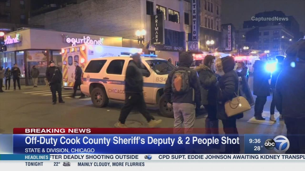 Off-duty Cook Co. deputy, 2 others shot in Golf Coast