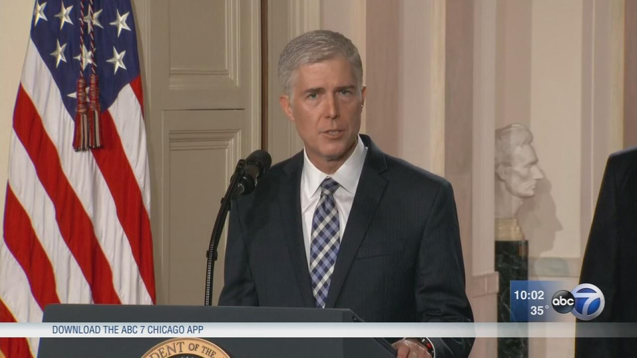 Judge Neil Gorsuch nominated to Supreme Court