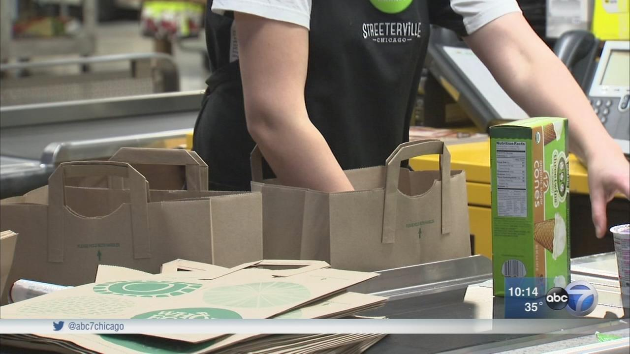 Chicago?s disposable bag tax takes effect Wednesday