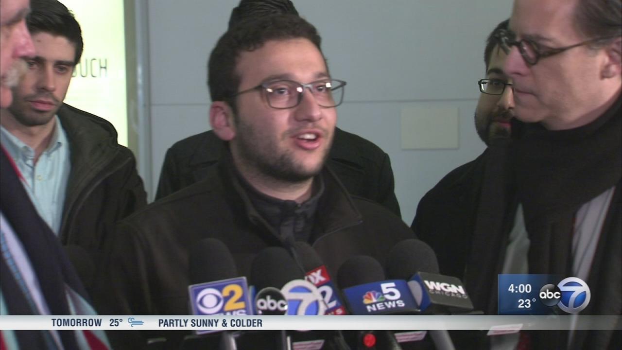 Doctor stranded after President Trumps travel ban returns to Chicago